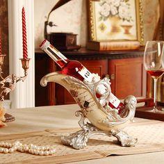 Europe Resin Wine Holder Home Decorative Bottle Wine Holder