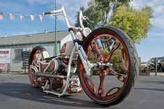 The completed bike from Binford's Custom Cycles.