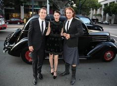 Sam Heughan, Caitriona Balfe and Tobias Menzies from the Outlander Premiere at Comic Con.