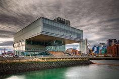 Diller Scofido Envelope Design, International Style, Commercial Architecture, Urban City, Concert Hall, Contemporary, Modern, Art Museum, American