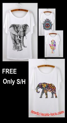 Your's is here: https://ecolo-luca.com/collections/our-free-products/products/summer-tops-casual-tshirt-wowen-short-sleeves-elephant-print-on-front-o-neck-one-size