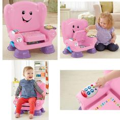 Kids Interactive Magic Chair Toy Educational Developmental Learn Sounds Lights
