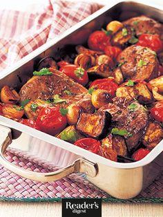 Mediterraner Lammtopf Beef, Recipes, Food, Eggplants, Easy Meals, Meat, Rezepte, Food Recipes, Ox