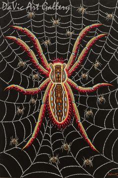 Grandmother Spider, Christi Belcourt - Anishinaabe | Native Canadian Arts Native Canadian, Canadian Art, Native American Art, Church Banners Designs, Spider Art, Woodland Art, Native Design, Spirit World, Animal Totems