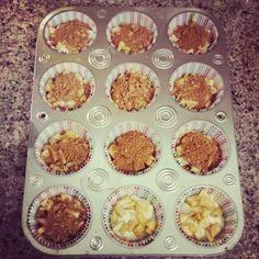 Gluten free Apple Cinnamon Muffins
