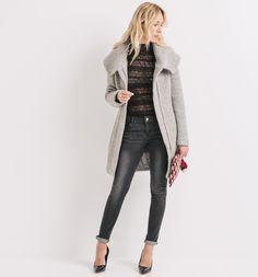 Ein #Klassiker für Ihre Herbst-Winter-Garderobe: Dieser #Mantel mit #Wollanteil hält Sie mit seinem breiten #Kragen besonders #warm. ♥ ab 99,95 €