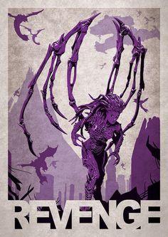 StarCraft - 10 affiches sublimes et créatives de jeux vidéo