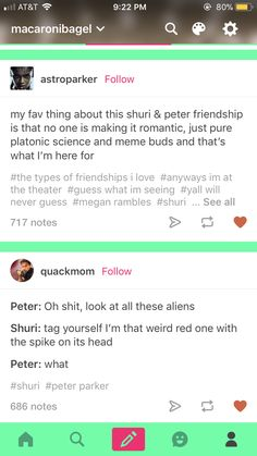 Yesss. I love Peter and Shuri friendship but I don't ship them at all