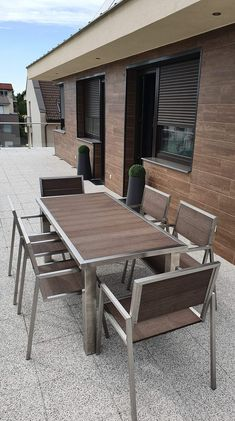 Outdoor Furniture Sets, Outdoor Decor, Patio, Home Decor, Luxury, Stainless Steel, Decoration Home, Room Decor, Home Interior Design