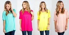 This is sure to be your FAVORITE tunic of the season, with it's loose comfy fit, and fashion forward style!