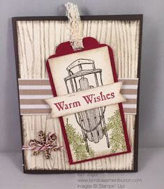 Winter Wishes, Stampin' Up! Christmas Cards 2018, Xmas Cards, Holiday Cards, Christmas Crafts, Scrapbook Cards, Scrapbooking, Card Tags, Gift Tags, Hand Made Greeting Cards
