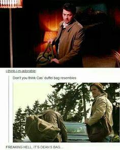 It is Dean's bag!