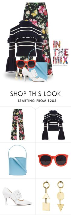 """""""Jan 26th (tfp) 5103"""" by boxthoughts ❤ liked on Polyvore featuring Dolce&Gabbana, self-portrait, Staud, Karen Walker, Attico, Eddie Borgo and tfp"""
