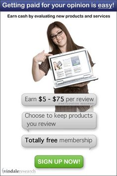 Earn $5-$75 per product review