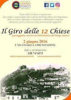 Il Giro delle 12 Chiese il 2 giugno alla scoperta del borgo antico di Campobasso