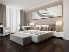 This is a Bedroom Interior Design Ideas. House is a private bedroom and is usually hidden from our guests. Modern Luxury Bedroom, Luxury Bedroom Design, Room Design Bedroom, Bedroom Furniture Design, Home Room Design, Luxurious Bedrooms, Home Decor Bedroom, Home Interior Design, Living Room Designs
