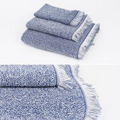 Toalha de Banho Mescla Azul 50 x 90 cm | A Loja do Gato Preto | #alojadogatopreto | #shoponline | referência 118767933