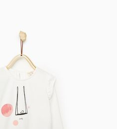 ZARA - KIDS - PRINTED TOP