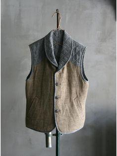 Vlas Blomme 2013 Quilted Vest