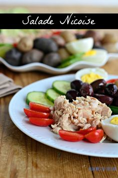 Nicoise salad is packed with protein, vitamins and minerals and makes a light, satisfying meal