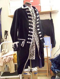 American Duchess: 18th c. Man's Suit