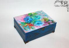 Exklusive Teebox Tea box / Schmuckbox  Tee Tea von UltroViolet