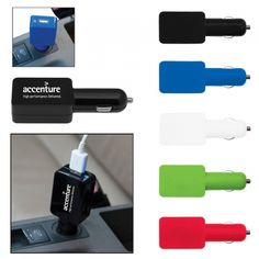 Your customers will always have the universe at their fingertips with the Universal USB Car Adapter.  Featuring: - Larger imprint area design - Input 12-24V, Output 5.0V/1,000mA - Made of ABS Plastic - LED power indicator  http://www.empirepromos.com/items/UniversalUSBCarAdapter28016.php#  #corporategifts #techproducts #marketing
