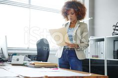 Making sure the documents are in order royalty-free stock photo