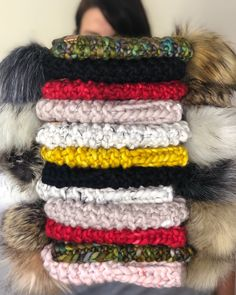 A vibrant stack of Wonder & Dream beanies