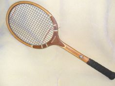 TA Davis Imperial Tennis Racquet - essa era uma de minhas raquetes favoritas. E a mais bonita! Anos 60!