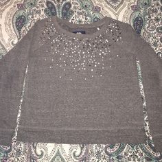 American Eagle Sequin Sweater- Large Gently worn sequin sweater. Very comfy and gently worn! Size large. Please feel free to message me for any additional details on this item! American Eagle Outfitters Sweaters Crew & Scoop Necks
