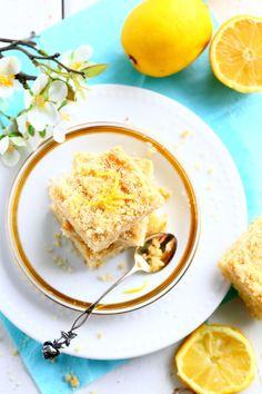 Sitruunainen rahkamurupiirakka eli rahkapiirakka - Suklaapossu