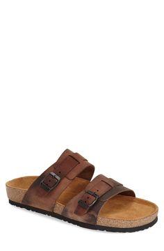 615c23de6bd0d7 Naot 'Santa Cruz' Slide Sandal (Men) Flip Flop Sandals, Slide Sandals