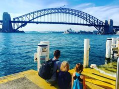Out on foot and ferry to explore Sydney and to catch up with friends at Darling Harbour.  #familygapyear #sydney #sydneyharbour #darlingharbour #ferry #exploringaustralia #travellingaustralia #sydneyharbourbridge #operahouse #homeschool by thefamilygapyear http://ift.tt/1NRMbNv