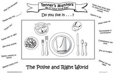 table etiquette for kids   do you promote good manners at home and in restaurants with children ...