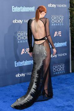 Kromě kalhotek se obešla i bez podprsenky.