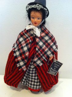 vintage composition head Peggy Nisbet collectors Welsh doll with label | eBay