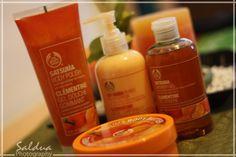 The Body Shop - Satsuma - my favorite scent!