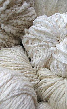 A great selection of dyeable Natural Yarns! Now 54 different yarns to choose from!