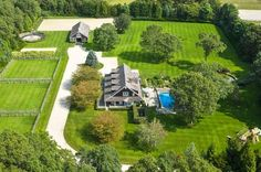 Amagansett NY 4 Bedroom Home For Sale With Pool, Acres, Hamptons Real Estate House With Stables, Dream Stables, Dream Barn, Horse Stables, Horse Farms, Horse Farm Layout, Barn Layout, Hamptons House, The Hamptons