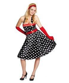 Faschingskostüm - 50-er Jahre Kleid