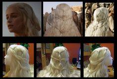 Daenerys wig by ~Elisa-Erian on deviantART