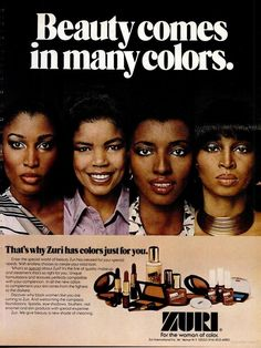 EBONY is the flagship magazine of Johnson Publishing. Johnson, it still maintains the highest global circulation of any African American-focused magazine. Vintage Makeup Ads, Retro Makeup, Vintage Ads, Vintage Vanity, Vintage Black Glamour, Vintage Beauty, African American Beauty, American Makeup, African Beauty