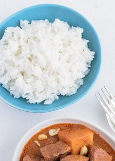 ... rice coconut rice is an easy delicious accompaniment to spicy thai