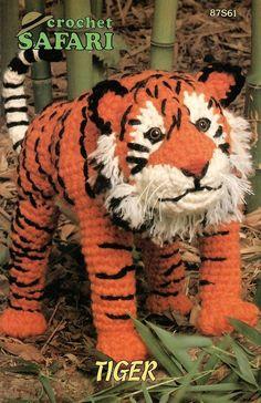 Afbeeldingsresultaten voor Free Crochet Amigurumi tiger Pattern