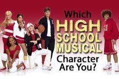 High School Musical - Personality Quiz I'm Ryan