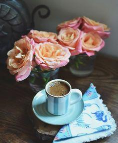 Evde gunaydin kahvesi ☕️