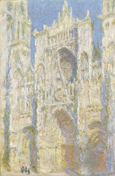 Rouen Cathedral #impressionism