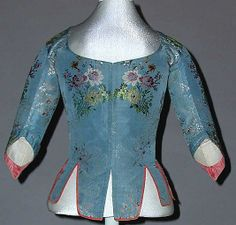 Bodice  Date: 18th century Culture: French