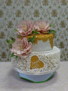 Dulce de leche Cake by Liuba Stefanova